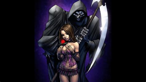 wallpaper anime grim reaper grim reaper background 67 pictures