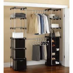 mainstays closet storage silver black walmart