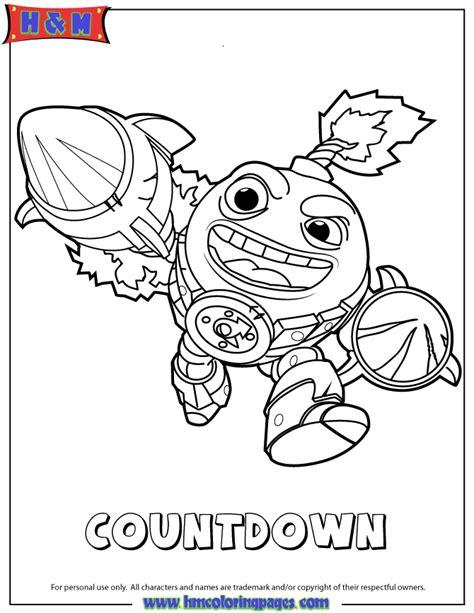 skylanders coloring pages hot dog skylanders swap force tech first edition countdown
