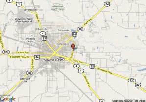 map of inn waycross waycross