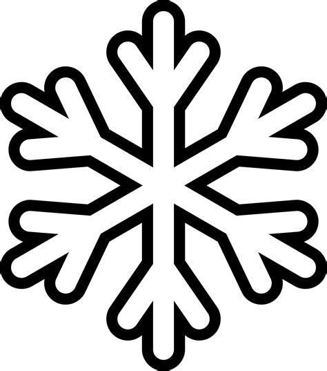 neve clipart clipart snowflake monochrome