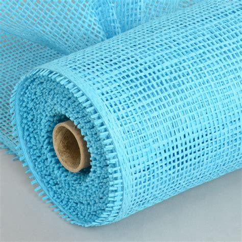 Paper Mesh Craft - 10 quot paper mesh roll blue 10 yards rr800103