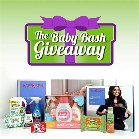 Lucky Giveaways - win big for your baby with the baby bash giveaway the mom of the year