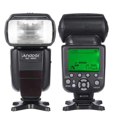 Blitz Kamera Nikon D3100 andoer ad 980ii i ttl hss 1 8000 s master gn58 blitz speedlite f 252 r nikon d7200 d7100 d7000