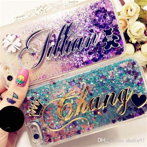 Softcase Iphone 5 Glitter Airsilikon Iphone 5 Glitter Air tailand exclusive costomize name liquid glitter soft for iphone 5 5s se 6 6s plus samsung
