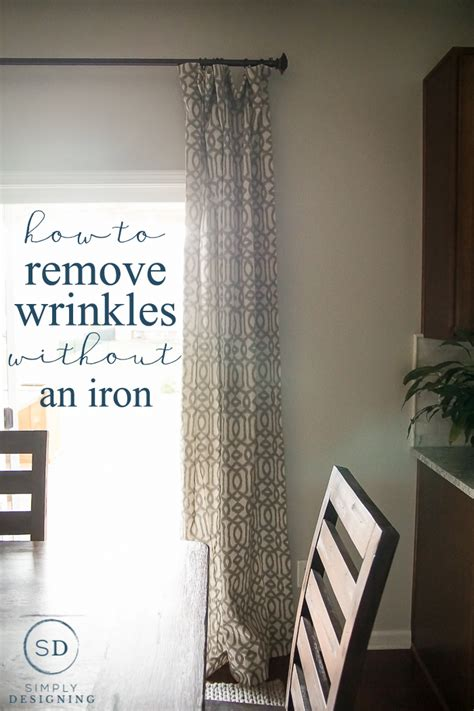 how to get wrinkles out of new curtains how to remove wrinkles from curtains without an iron