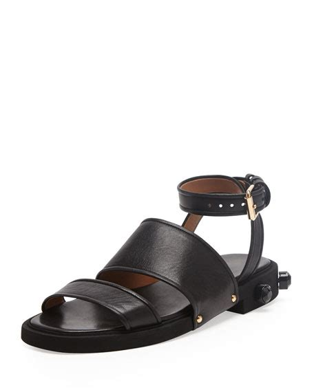 New Givenchy Specchio givenchy strappy ankle wrap flat sandal