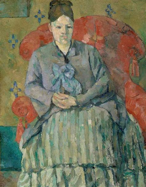 madame cezanne in a red armchair art review c 233 zanne and beyond at the philadelphia museum