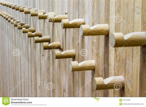wooden coat rack royalty  stock photo image