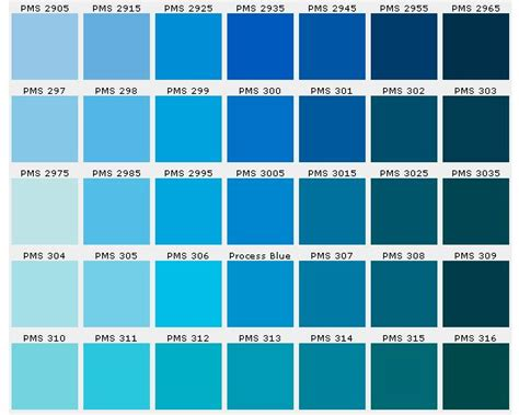 shades of blue chart search results for colors of blue with names chart