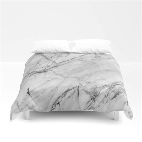 marble bed sheets duvet covers society6