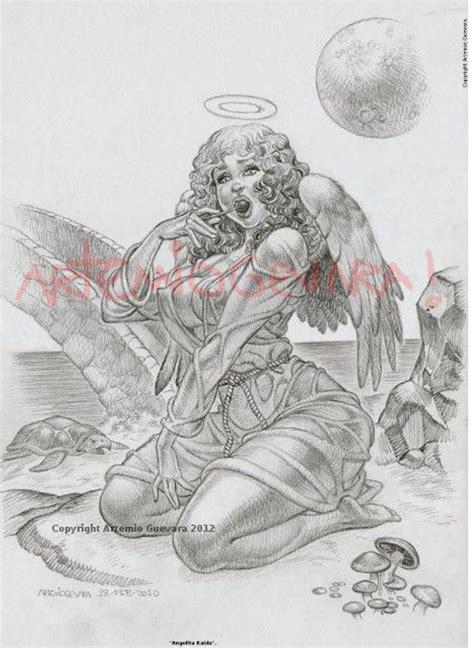 imagenes de angeles aztecas el arte bizarro c 243 smico de artemio guevara el arte