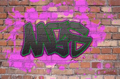 Brick Wall Graffiti Gsartz Brick Wall Tattoos Graffiti 2
