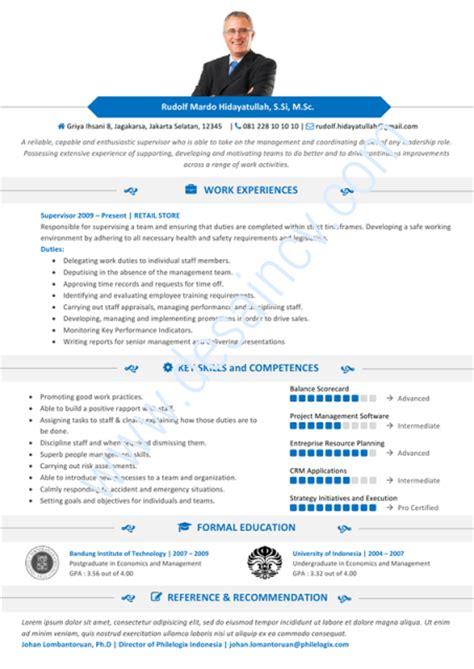 contoh desain curriculum vitae desain cv kreatif contoh cv profesional ezalia