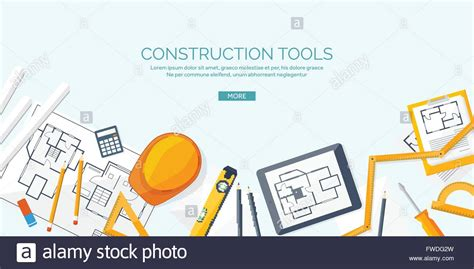 design engineer and construct vector illustration engineering and architecture drawing