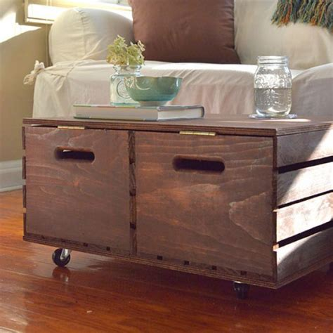 diy ottoman with storage 15 easy diy storage furniture projects on a budget