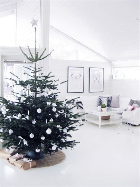 25 straightforward and minimalist christmas tree