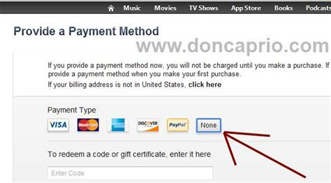 how to make a paypal without a credit card how to create an apple id without a credit card or with paypal