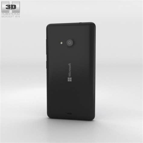 Microsoft Lumia 535 Black microsoft lumia 535 black 3d model hum3d