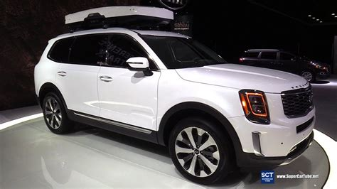 2020 Kia Telluride White by 2020 Kia Telluride Exterior And Interior Walkaround