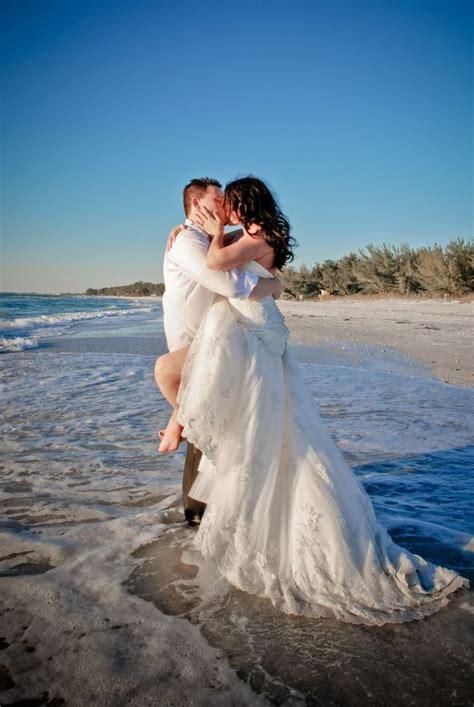 beach trash  dress photoshoot beach wedding