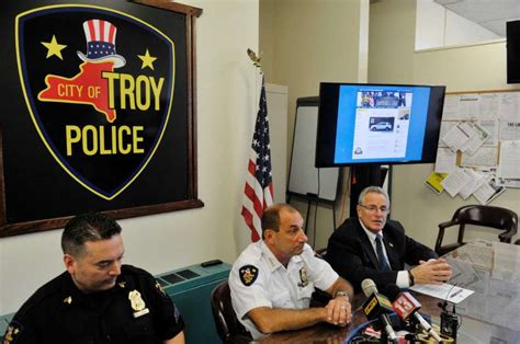 troy unveils crime reporting system times union