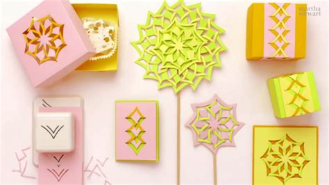 Cut And Fold Paper Crafts - create beautiful paper craft projects using the martha