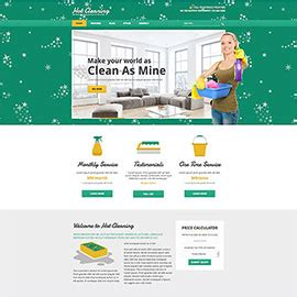 Cleaning Business Website Templates joomla templates responsive and hotthemes