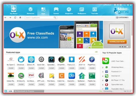 mobogenie mobile app mobogenie android smart phone application pc manager