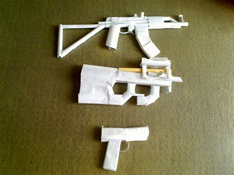 Paper Guns - paper guns flickr