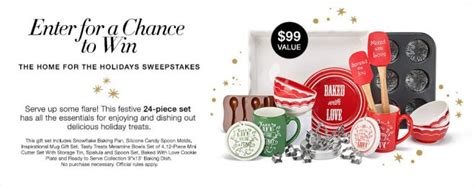 Home For The Holidays Sweepstakes - sweepstakeslovers daily vera bradley avon carmike cinemas more