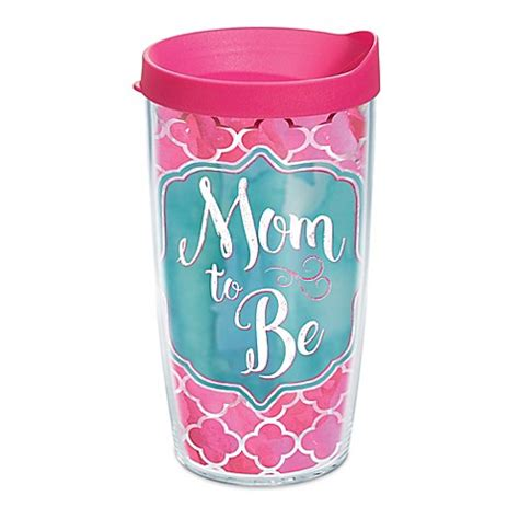 tervis bed bath and beyond tervis 174 quot mom to be quot 16 oz wrap tumbler with lid bed