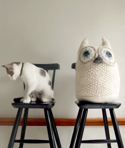 carrementchouette78 une groose chouette en tricot