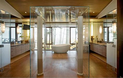Big In Shower by 15 Bathrooms With Glass Showers Rilane