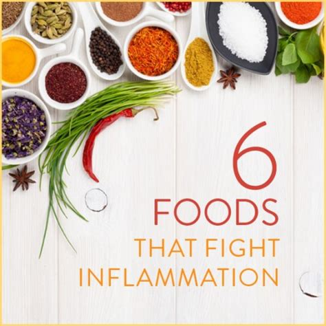 6 supplements that fight inflammation 6 foods that fight inflammation get healthy u