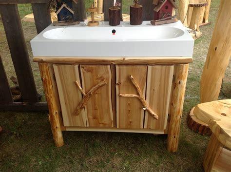 Raised Vanity by A Raised Bathroom Vanity Log Vanities And Cabinets