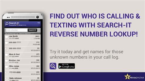 Lookup A Phone Number On Phone Number Lookup Android Apps On Play