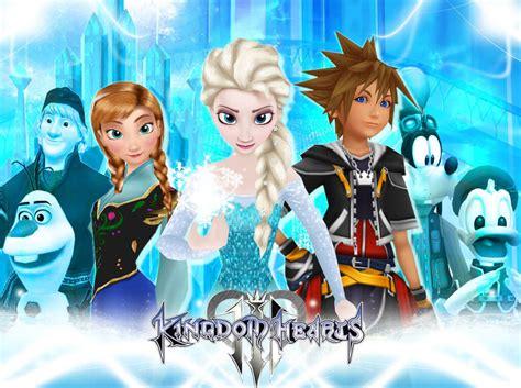 kingdom hearts  frozen revealed   world