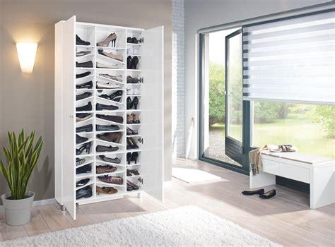 Garderoben Mit Schuhschrank by Schuhschrank Hochglanz Lackiert Wei 223 Schuhschr 228 Nke