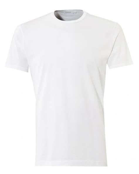 Neck Plain T Shirt sunspel mens plain t shirt crew neck cotton white