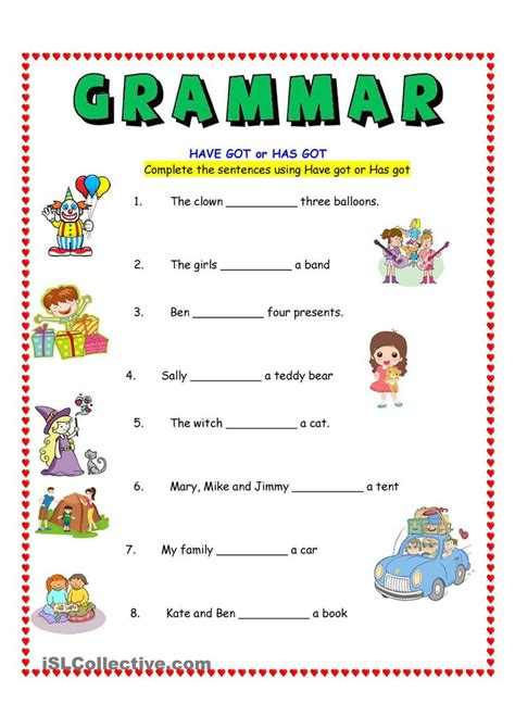 teach children esl free esl resources for those who 172 best have has chart and worksheets images on