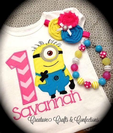 T Shirt Chocolate Despicable Me birthday despicable me minion inspired t shirt with