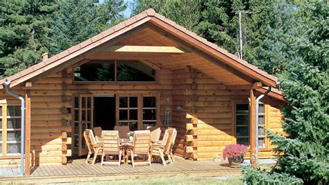 log home design plan and kits for campfire