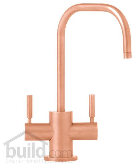 copper faucet kitchen waterstone 1425hc pc polished copper fulton filtration