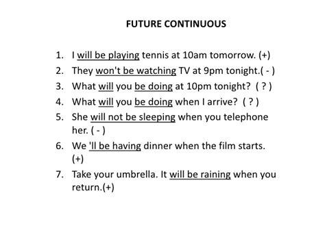 como se hacen las preguntas en pasado continuo en ingles future continuous and future perfect