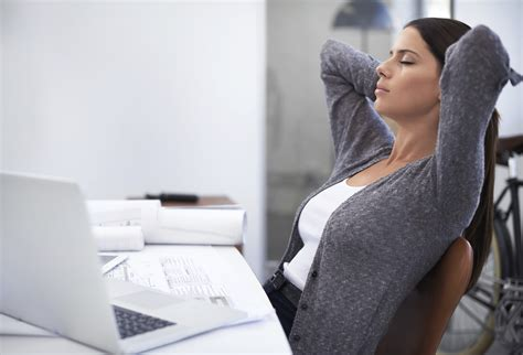 For Sitting At Desk by Deerfields 5 Healthy Ways To Conquer Stress