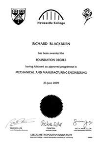 Foundation Degree