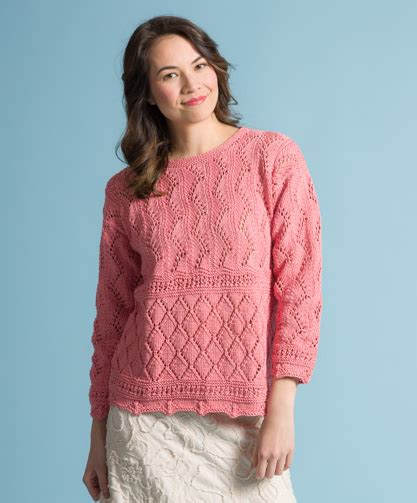 lace jumper knitting pattern sweaters knitting patterns free