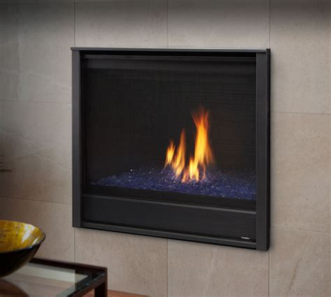 Modern Direct Vent Gas Fireplace by Gas Fireplaces Caliber Modern Kastle Fireplace