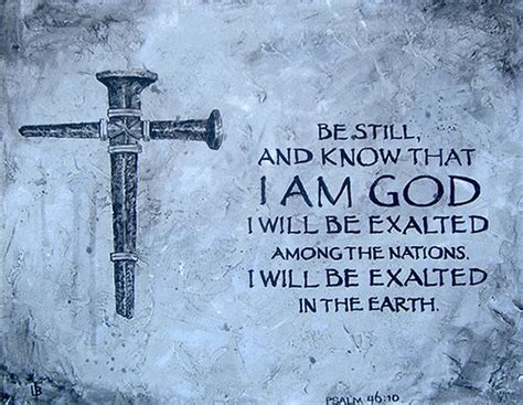 be still and know that i am god tattoo psalm 46 10 be still and that i am god customize